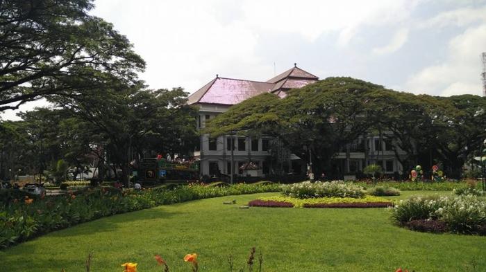 Pohon Trembesi di depan gedung DPRD Kota Malang   Sumber: Kompasiana