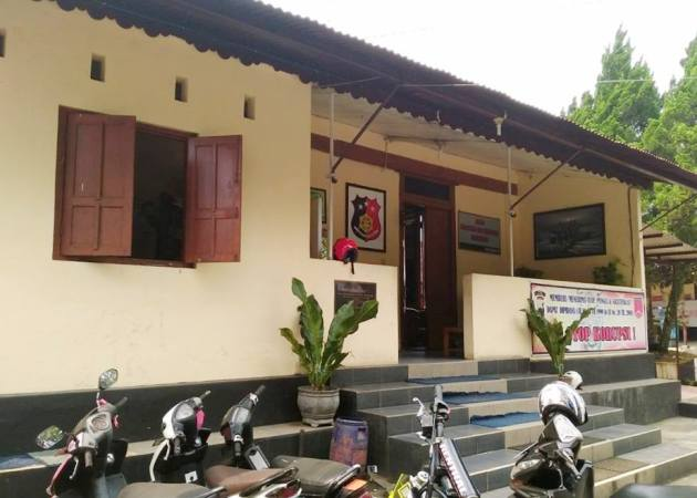 Gedung untuk kantor Sat Reskrim (foto: dok pri)