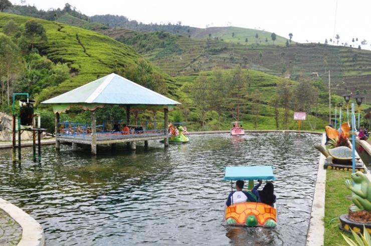 Kolam di dekat parkiran wisata (Dok. Yani)