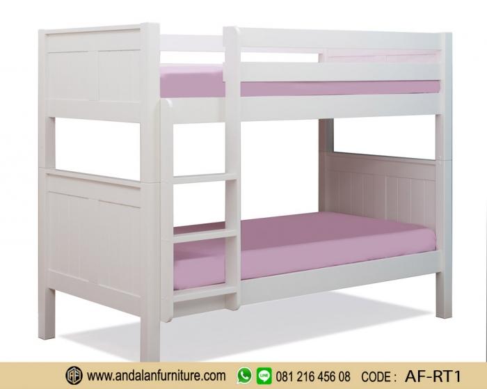 Ranjang Tempat Tidur Anak Tingkat Minimalis Oleh Riski Darmawan