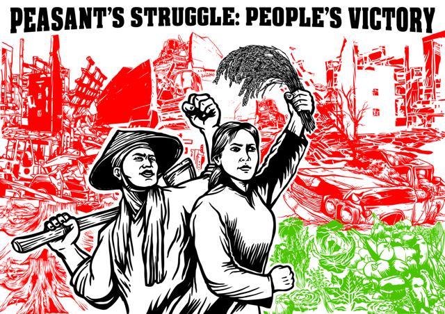 Ilustrasi Perlawanan Petani (sumber: RevolusiIlmiah.com)