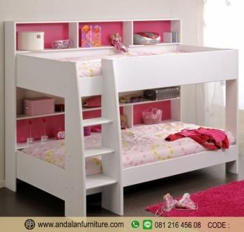 Ranjang Tempat Tidur Anak Tingkat Minimalis Halaman All