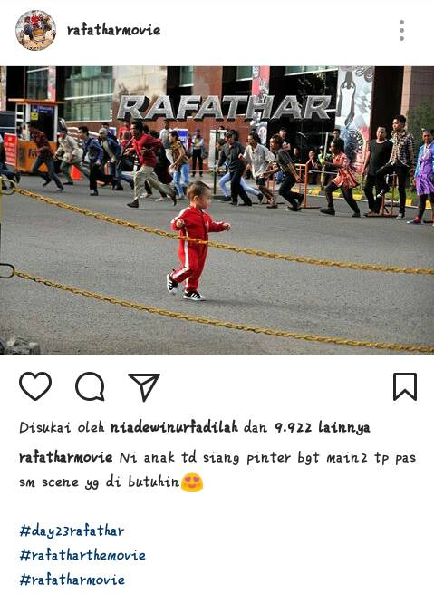 Dok. Instagram Rafathar the movie
