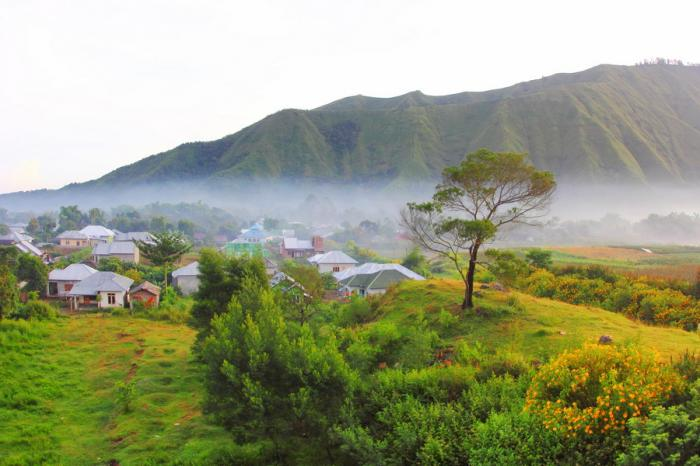 Pagi di Desa Sembalun lereng Gunung RInjani (dok.pri).