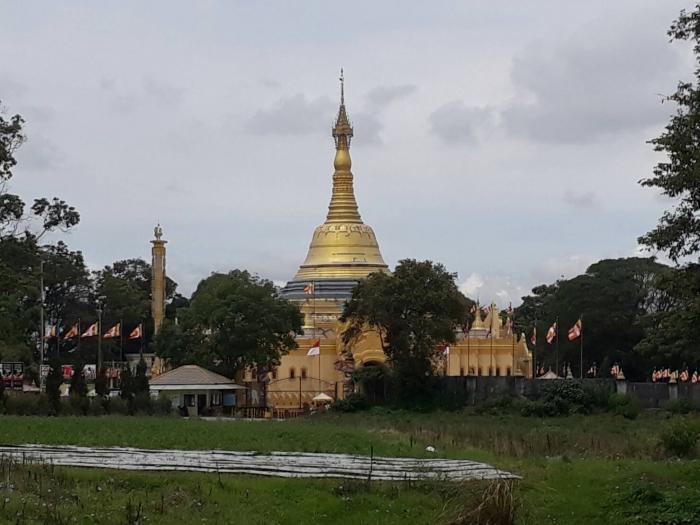 Pagoda dari Kejauhan
