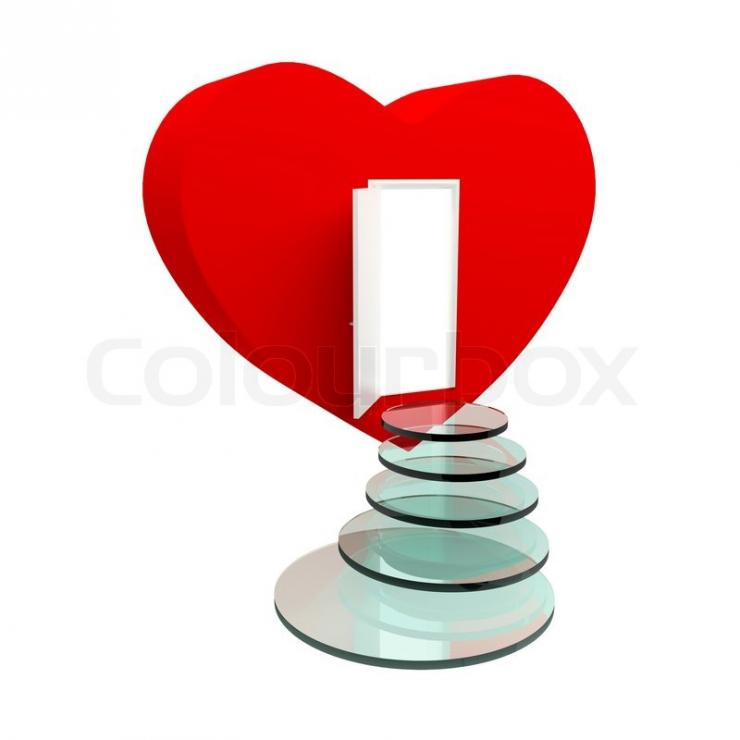 from: https://www.colourbox.com/image/red-heart-with-an-open-door-and-steps-isolated-on-the-white-image-3339534