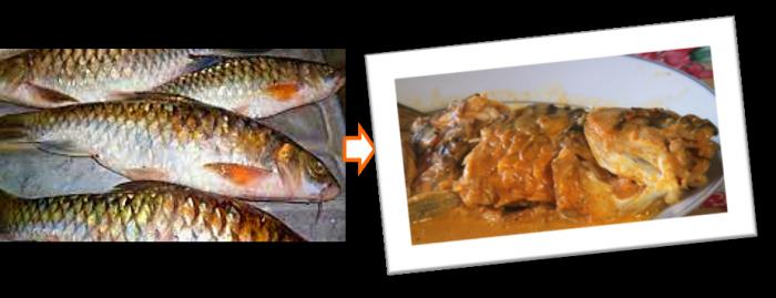Foto: Gulai Ikan Semah | Doc. pribadi