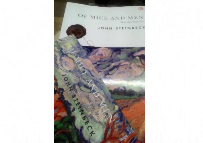 the variety of themes brought out in steinbecks novel of mice and men