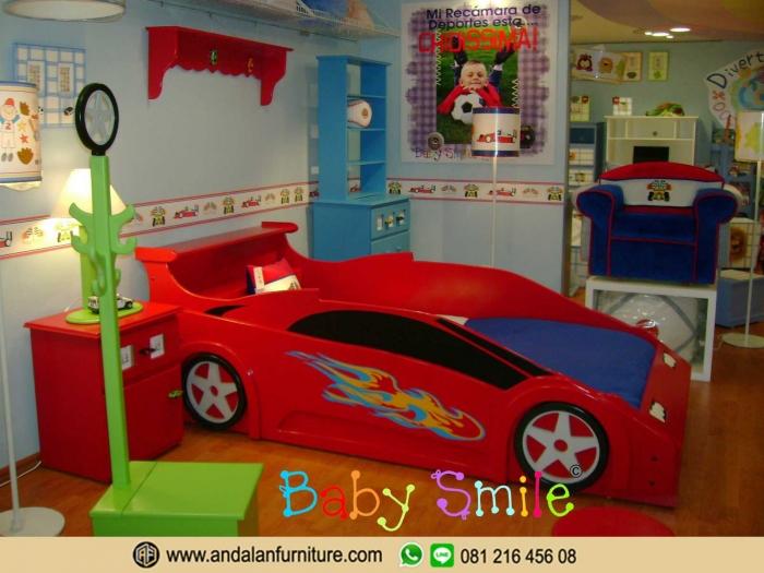 Tempat Tidur Mobil Anak Ranjang Kasur oleh Deni Restianto ...