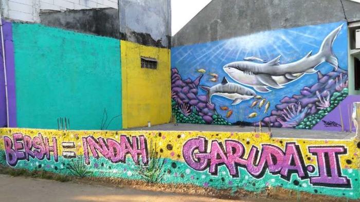 Art4all melawan vandalisme dengan gang cantik berseri for Mural yang cantik