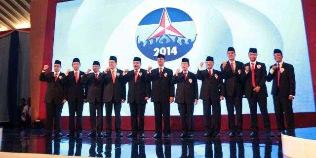 Para peserta konvensi Capres Partai Demokrat tahun 2014. Sumber Indopolitika.com