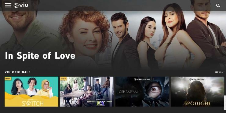 VIU, layanan VOD asal Hong Kong melabuhkan bahtera bisnisnya di Indonesia. VIU baru-baru ini meluncurkan serial drama original SWITCH yang eksklusif tayang di kanal VOD tersebut. (sumber : dok.pri)