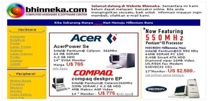 Evolusi E-Commerce Bhinneka