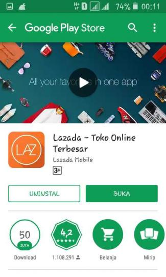 Google Lazada Dan Telkomsel Menipu Saya Halaman 1 Kompasiana Com