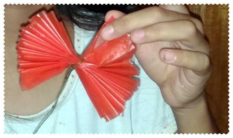 Inilah Cara Membuat Bunga Dari Kantong Plastik Halaman All Kompasiana Com