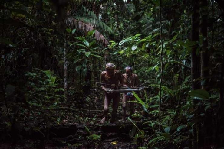 Suku Mentawai telah hidup di hutan hujan tropis selama ribuan tahun. Kredit foto Sergey Ponomarev untuk The New York Times