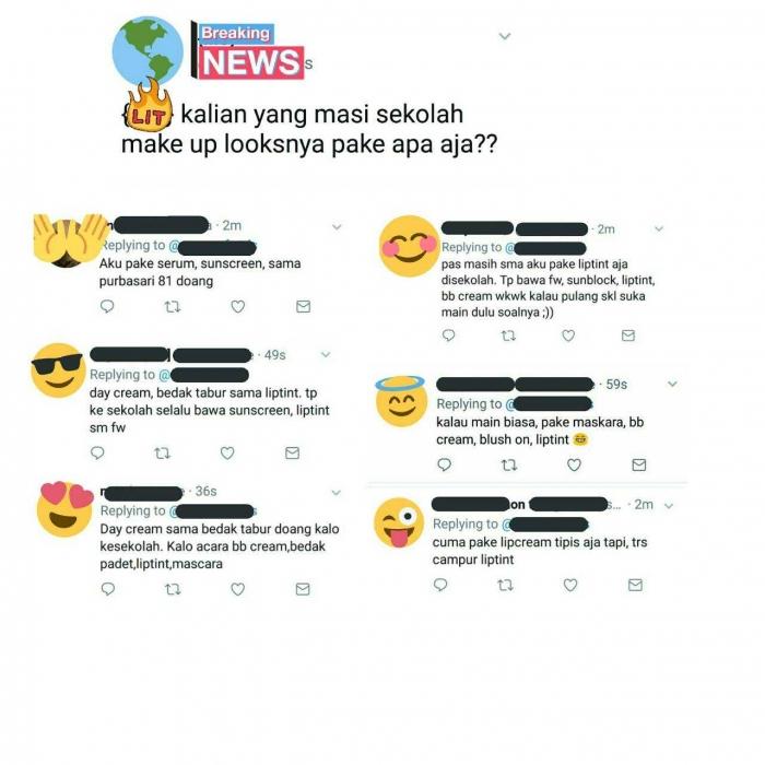 Anak Sekolah Pakai Makeup Setuju Oleh Delfa Adelia Kompasiana Com