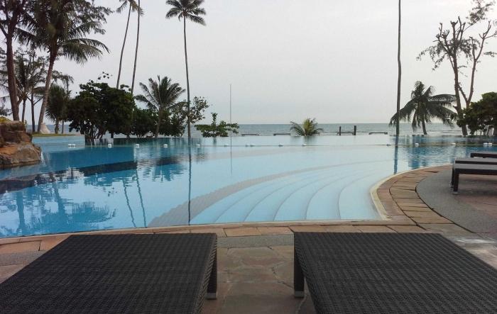 View Pantai di Kawasan Wisata Bintan Resort, Kepri /Dokumentasi Pribadi