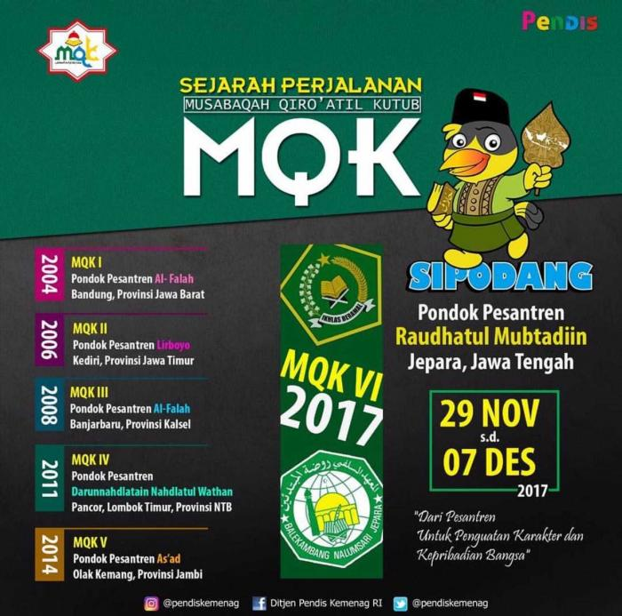 Poster MQK 2017 (dari Penyelenggara MQK)