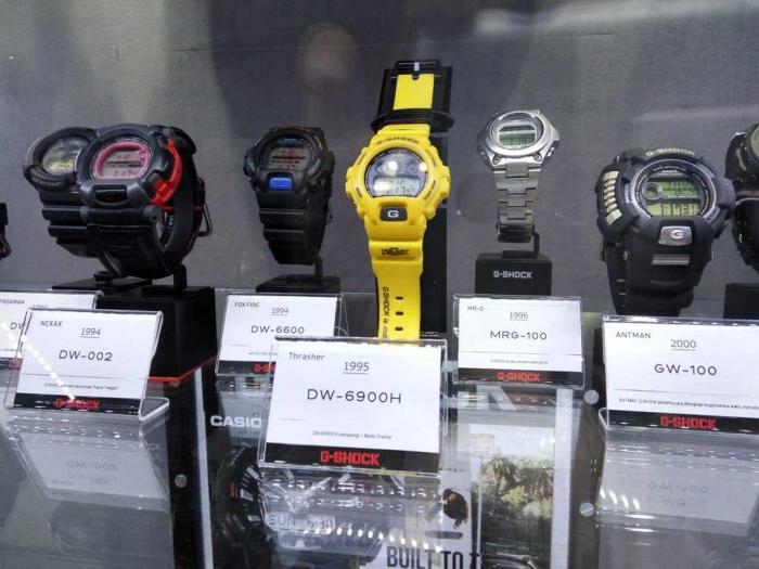 Jam tangan G-SHOCK semakin bertambah tahun selalu memunculkan inovasi baru. (dok. windhu)