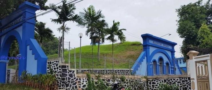 Reservoir Siranda-Bangunan Bersejarah di Kota Semarang (dok pri)