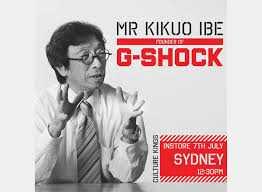 Kikuo Ibe bapak G-Shock (g-street.com.au)