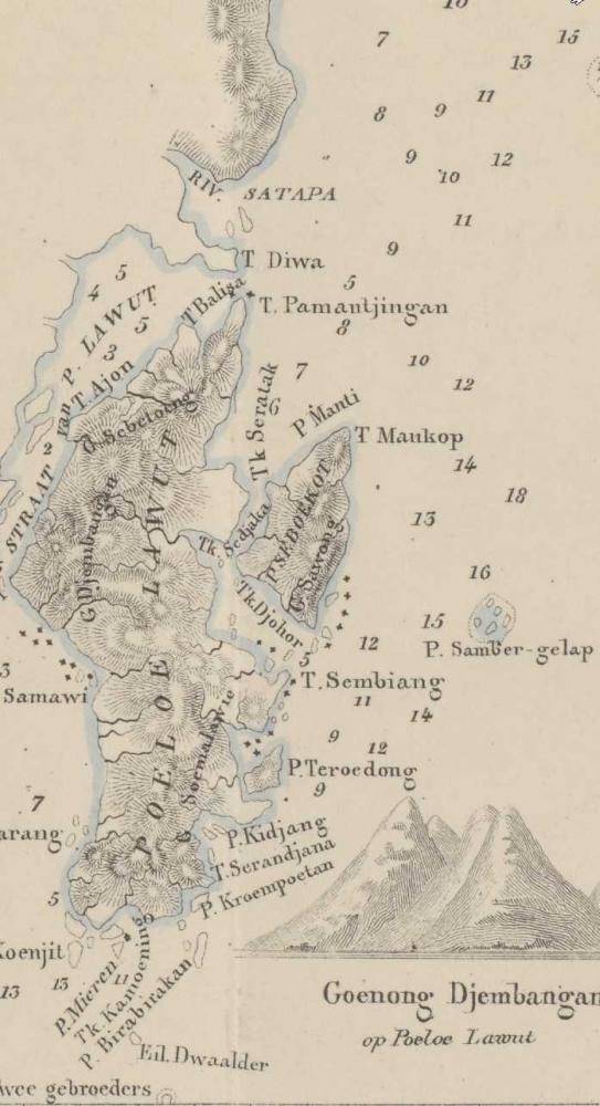 Peta Buatan Solomon Muller