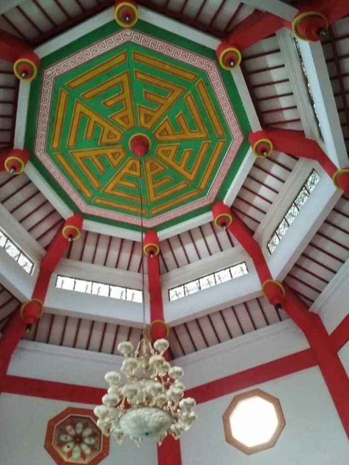 bagian atas masjid (dok.pri)