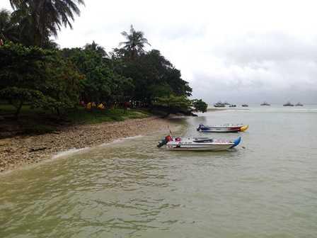 Pantai Liwungan yang Bersih (Dokpri)