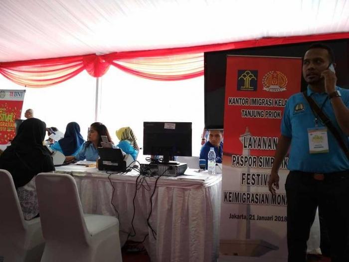 antrian wilayah Tanjung Priok (dok.pri)