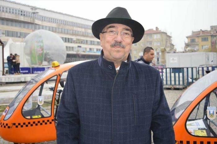 perkenalan 'taksi sepeda' (dok.Anadolu Agency)