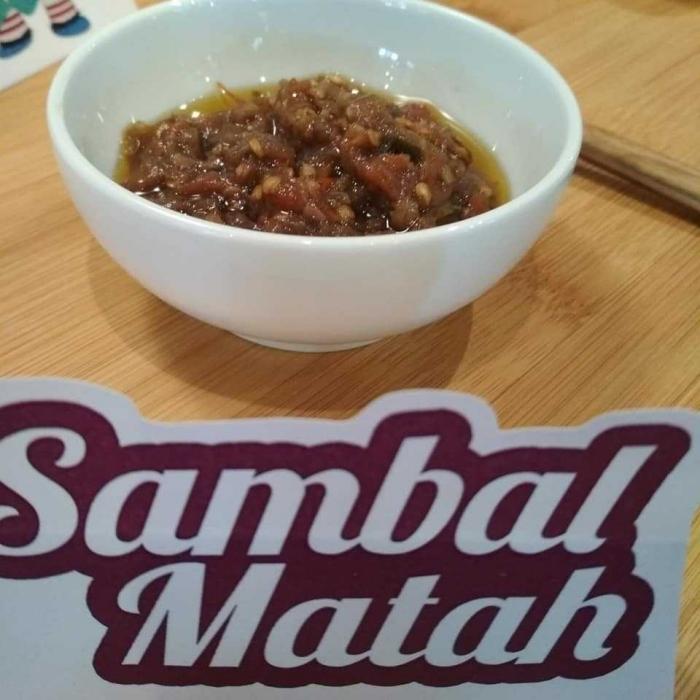 sambal matah by Hokben (dokpri)