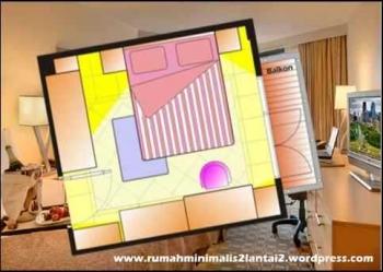 Desain Rumah Minimalis Dua Lantai Dengan Tiga Kamar Tidur
