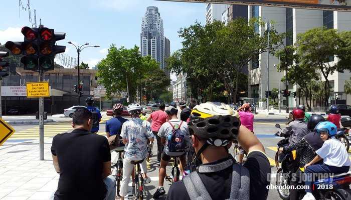 Yuk bersepeda di Kuala Lumpur (dok. koleksi pribadi)