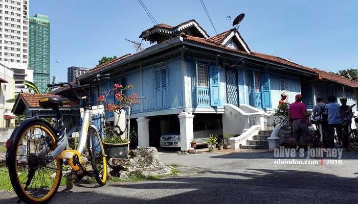 Bike with Elena, alternatif wisata sejarah Kuala Lumpur (dok. koleksi pribadi)