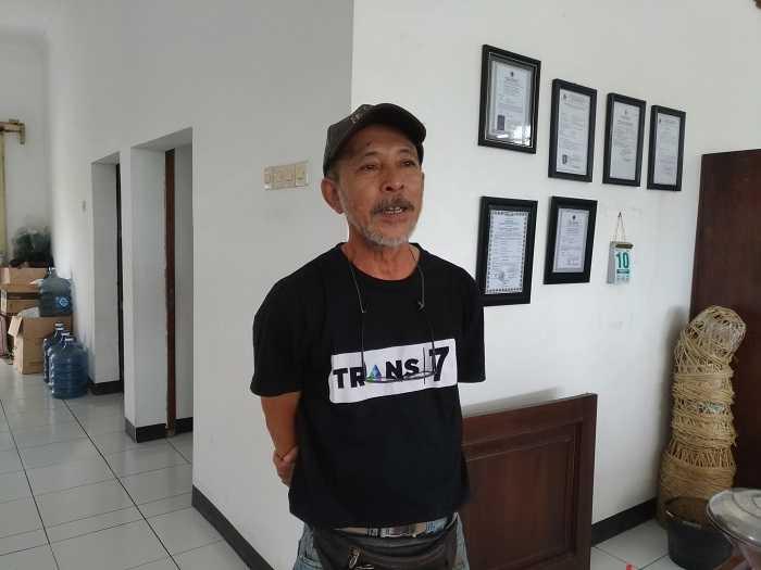 Budi Santosa Tantra Pemilik Tauco Cap Meong (Dok. Didno)