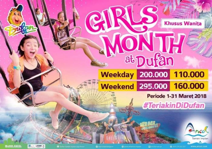Diskon Girls Month | Sumber: Dufan