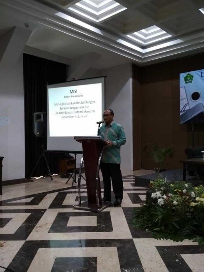 Ditjen Bimas Islam, Muhammadiyah Amin (dok.pri)
