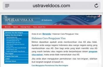 5 Tips Mengurus Sendiri Visa Turis ke Amerika Serikat oleh Gentur