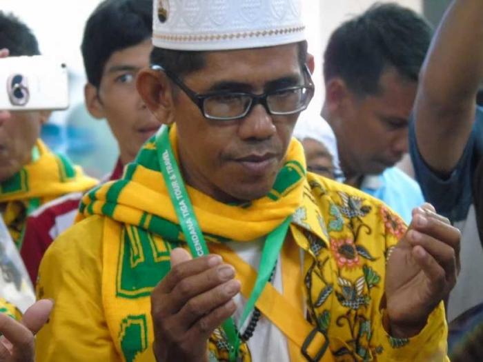 Berdoa Bersama Jamaah Ibadah Umrah PT Cendana (Dok. Pribadi)