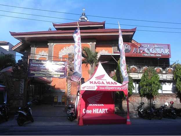 Mushola Al Qomar, jalan Pura Demak, Kota Denpasar menyediakan takjil gratis (Sumber: dokumen pribadi)