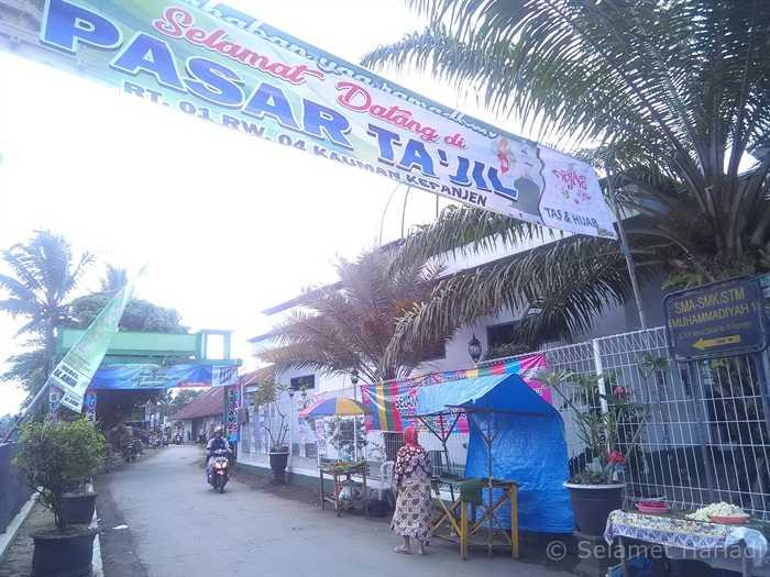 Pasar Takjil (dok.pribadi)