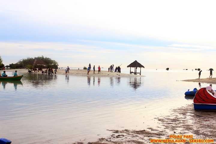 Pulau Pari Wisata Pulau Dengan Ikon Pantai Pasir Perawan Kompasiana Com