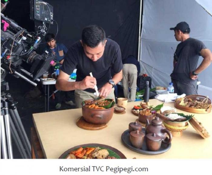Saat Ahmad Harisatu Zakaria menjadi Food Stylist (dok.Ahmad Harisatu Zakaria)