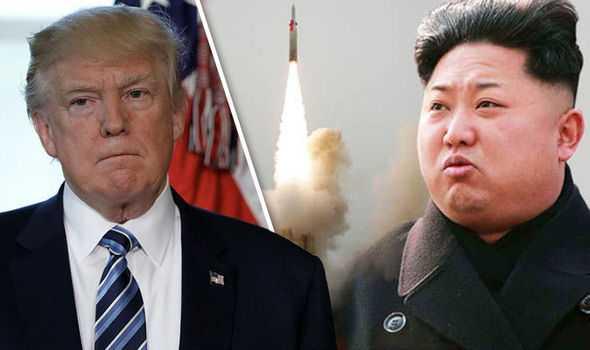 Nuklir, Trump, dan Kim Jong-Un (Sumber: express.co.uk)