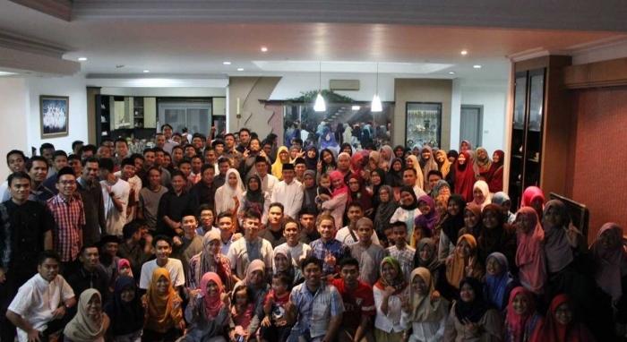 Bukber IKA SMUDAMA 2016 masih memegang rekor dengan 150 peserta