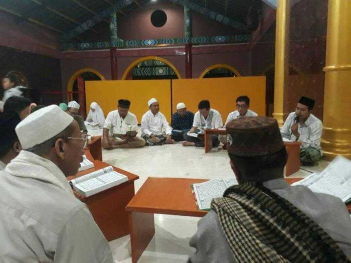 Tadarus Al Qur'an/ilsutrasi (dok.kemenag)