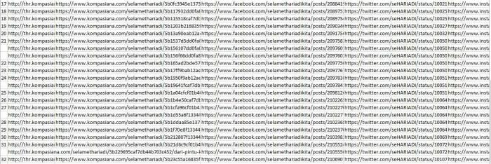 Rekab Artikel dan Share Media Sosial 17-32 (dok.pribadi)