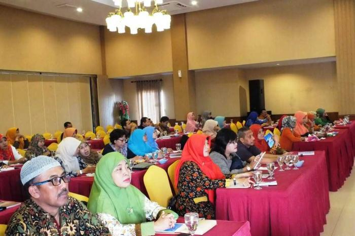 Peserta antusias mengikuti acara ( foto : dokumen pribadi )