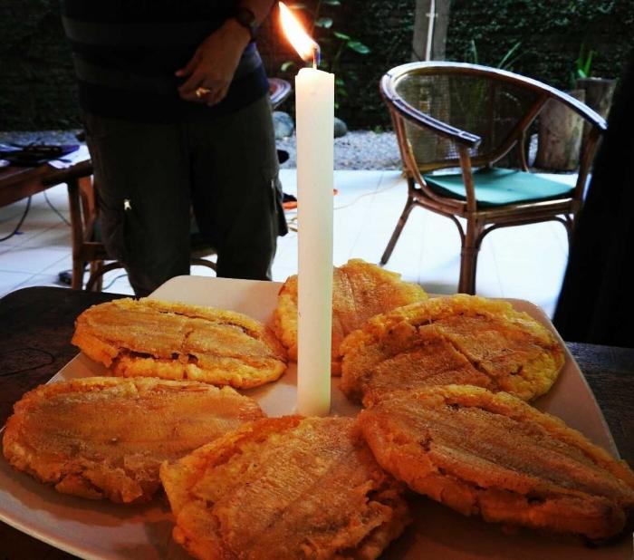 Sanggara pepe memperingati setahun Vlomaya (Dokumentasi Vlomaya)